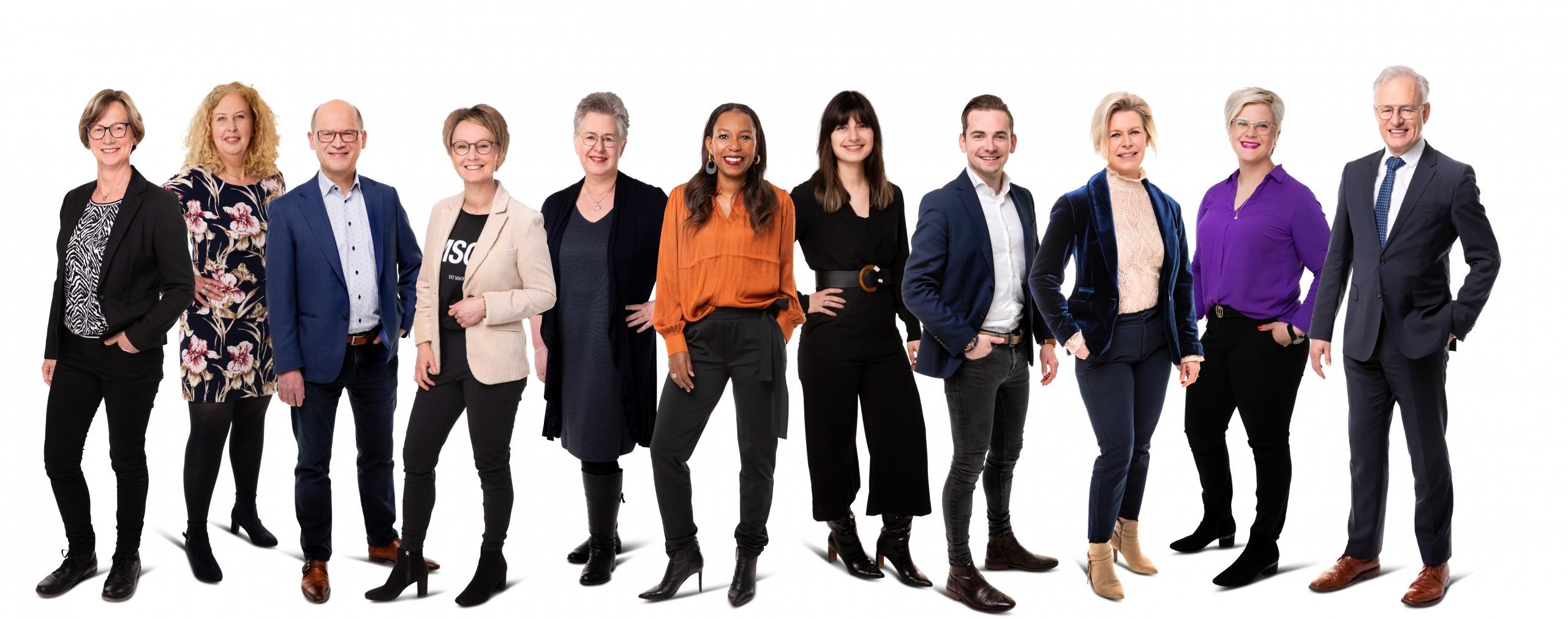 ten Hag makelaars Enschede team